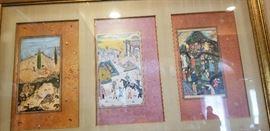 Chinese framed art