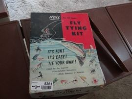 Fly tying kit.
