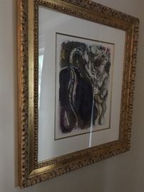 Custom Framed Chagall Prints