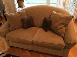 Chenille Love Seat , Mint Condition