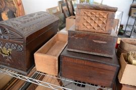 Collection of wooden boxes #2