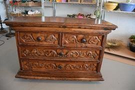 Small antique chest