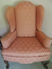 Set of two wingback chairs