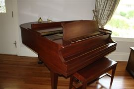 Vintage Grand Piano - Chase Brothers