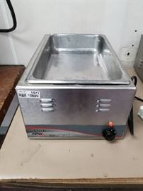 APW Wyott Classic Countertop 22 Qt. Food Warmer