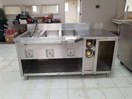 Croft Hot Food Steam Table Commercial Kitchen