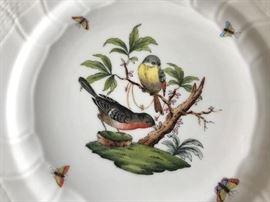 Rothschild Bird Salad Plate ( 8 pcs)