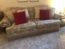 Nice like new sofa and matching loveseat