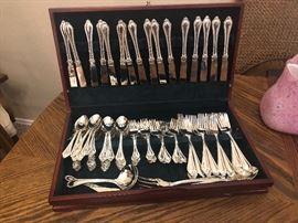 International Silver set of flatware in a box