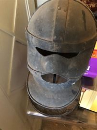 """The Iron mask from  """"The man in the Iron Mask Richard Chamberlain wore this."""