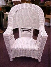 WICKER CHAIR-4