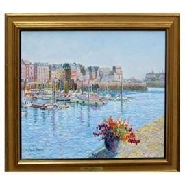 H. Claude Pissarro Oil Painting