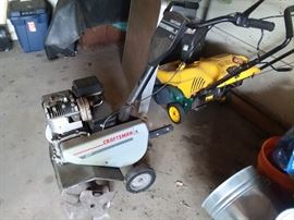 Craftsman roto tilller - needs new blade and snow blowers in perfect condition