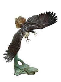 Life Size Eagle Bronze