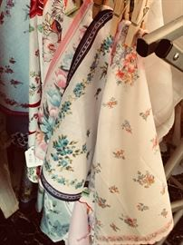 Beautiful women's hankies - printed, embroidered, wedding day and everyday.