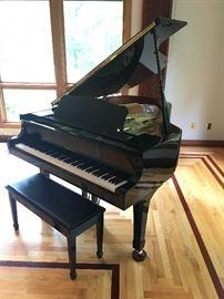 Yamaha G3 Black Lacquer Baby Grand Piano