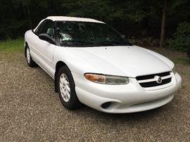 1997 1/2 Chrysler Sebring JXi Convertible! White on white on white! Leather interior, power everything, 86,000 miles!