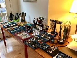 Jewelry, semi precious stones, Necklaces, and earrings