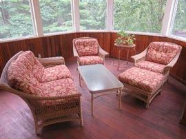 Brown Jordan 6-pc porch set