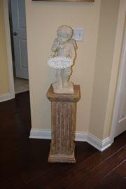 Stand & Angel Figurine