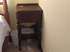 Victorian nightstand. Part of set.