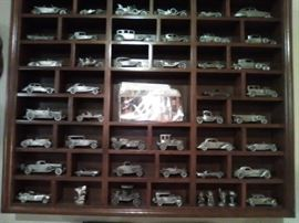 Danbury Mint Pewter car collection