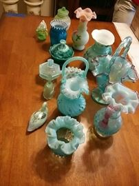 Fenton Glass and More