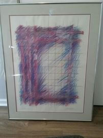 Julia Stewart Signed Print Window Number Three