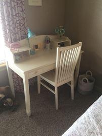 PB Kids Desk and Chair