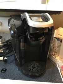 Single pod coffee maker