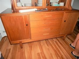 Base of mid Century Hutch
