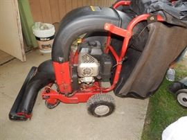TroyBilt- 6.5hp Self-Propelled  Lawn Vacuum