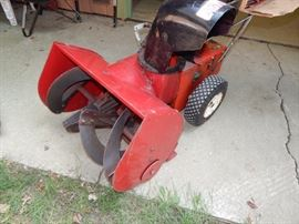 "Craftsman ""Eager 1 ""24"" Snow Blower"