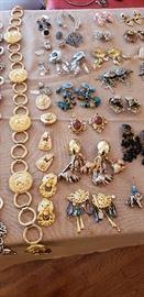 belts and earrings