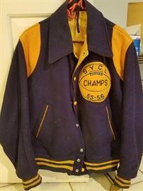 50's Wool Varsity Jacket