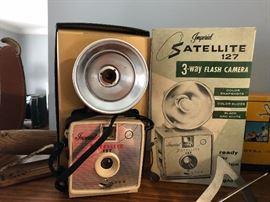 Vintage Imperial Satellite Camera