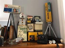 Vintage Kodak & Polaroid Cameras