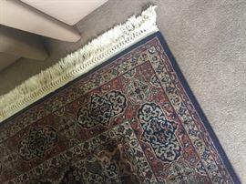 Area 100 % wool rug