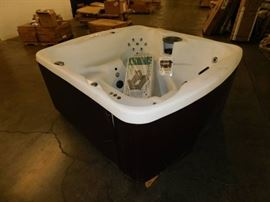 Aquaterra Aryana 5 Person Spa With Step