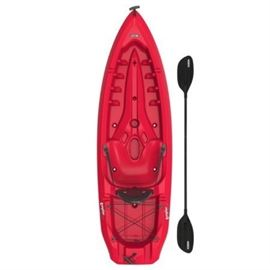 Lifetime Daylite 80 Sitontop Kayak paddle Inclu ...