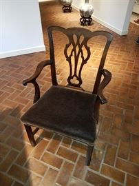 CHIPPENDALE DINING ROOM CHAIR