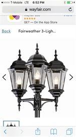 FAIRWEATHER 3LIGHT 98 POST LIGHT