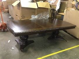 LARGE DINING ROOM TABLE missing the feet