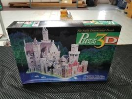 Alpine Castle 3D Puzzle Set