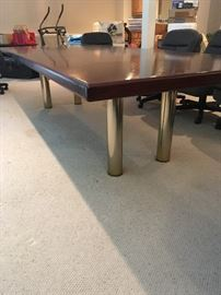 10' conference or banquet table...…$675  or 10,500  with 10 rolling chairs ...a steal