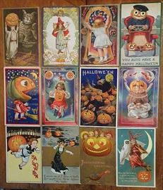Outstanding Collection of Old Halloween Postcards