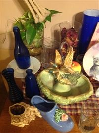 McCoy Pottery & Cobalt