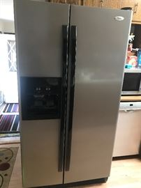 Stainless Steel Side by Side Refridgerator
