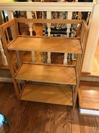 #263 Shelf Foldable Bookcase   28x1ftx39 $35.00