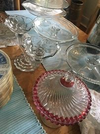 Antique Glass collectibles